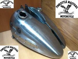 3-1/2 Gallon Fat Bob Gas Tank Set fits Harley 1947-1950 and other FL FLH E EL