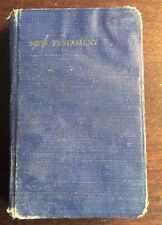 The New Testament Of Our Lord And Savior Jesus Christ(1952,Hardcover) PreOwned