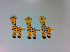 BABY GIRAFFE SET OF 3 DIE CUTS PUNCHES CARD DECORATIONS SCRAPBOOKING
