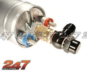ALLOY AN BANJO KIT SUIT BOSCH PUMP (BLACK) Compatible with Aeroflow Fuel Turbo L