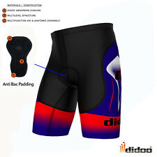 21cd2591134c46 Men's Pro Cycling Shorts Coolmax® Anti-Bac Padded Boxers Skin Tight Boys  Knicker