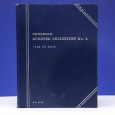 Canadian Quarter Collection 3 1953 To DATE Whitman Blue No. 9069 Coin Book C070