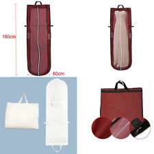 Breathable Long Dress Cover Storage Bag for Bridesmaid Bridal Wedding Gown Dress