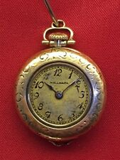LADIES POCKET WATCH  L. Blancpain Fils MOVEMENT GOLD FILLED SWISS PARTS/REPAIR