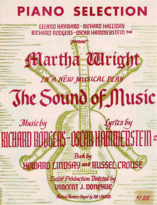 THE  SOUND OF MUSIC PIANO SELECTIONS