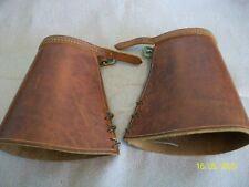 Cowboy Leather Cuffs Gunfighter Wild West Reenactor Country & Western