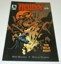 Hellboy The Wild Hunt #3 Comic Dark Horse 1st Full Appearance Nimue Blood Queen