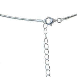 Omega Reif Reifen 925 Sterling Silber 1,5 mm Stärke 45 cm + Verlängerung