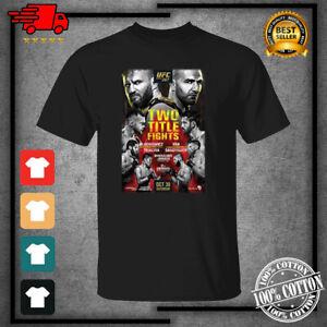 Men's UFC 267 Event Black T-Shirt For Fan