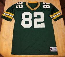 RARE Mens Vintage Green Bay Packers Don Beebe Champion Jersey Size 44