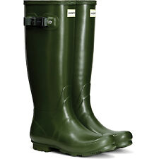Hunter Norris Ladies Field Wellies - Vintage Green - UK 3