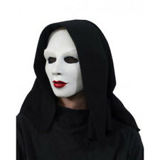 Nun Like Her White Ghost Creepy Sister Woman Adult Halloween Latex Mask & Hood