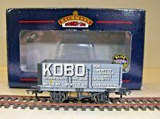 BACHMANN NEW 37-078 12 TON 7 PLANK FIXED END DOOR WAGON No.15 ''KOBO'' (LOT 14)