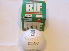 Worth level 10 RIF Reduced injury factor official R-12WLD white softball NOS NIB