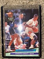 alonzo mourning Rookie Card. First Round Draft Pick. Ultra Fleer 92-93 Hornets