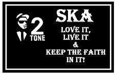 Ska ( Love It,Live It ) - Souvenir Nouveauté AIMANT pour Réfrigérateur - Tout