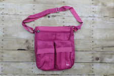 Lug Travel Bag Tote Overnight bag Pink lots of pockets Oranization One Size