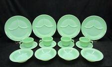 Vintage Jadeite Jadite Fire King Restaurant ware set. Minty Mint !!!! 16 Pieces