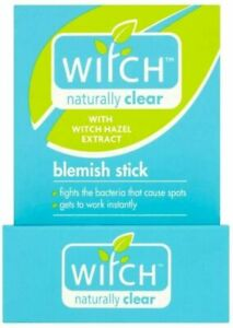 Witch Naturally Clear Blemish Stick, 10g FREE POSTAGE