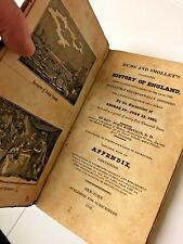 Antiquarian Book, Hume & Smollet's Celebrated History of England, 1826