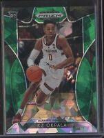 2019 Panini Prizm Basketball KZ OKPALA GREEN ICE ROOKIE CARD RC DRAFT #05/18