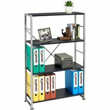 More details for bookcase with 4 shelves storage furniture for home office - piranha ballan pc12g