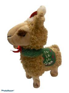 Llama Animated Gemmy Christmas Singing Plush Holiday Toy Fa La La Dances Sings