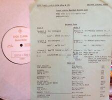 RADIO SHOW: DICK CLARK GOLD 261 INSTRUMENTALS! REBELS, DUANE EDDY, VENTURES
