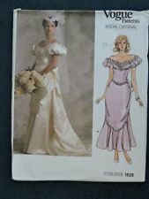 Vogue Bridal/Evening 1980s Collectable Sewing Patterns