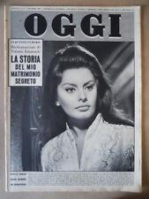 OGGI n°49 1960 Maria Callas Figlio del bandito Giuliano Sofia Loren [G790]