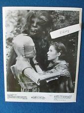 """Original Press Photo - 10""""x8"""" - Star Wars - ROTJ - Leia, Chewbacca & C-3PO"""
