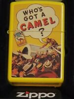 Camel Zippo Lighter WHO'S GOT A CAMEL #CZ RARE 50 MADE NEW  🐫