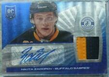 Nikita Zadorov 2013-14 Panini Totally Certified Rookie AUTO PATCH RC /25