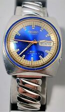 Vintage Seiko Automatic DX 17 Jewels Mens Watch Working Running L@@K!! 6108-8599
