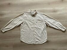Barbour Checked Cotton Comfort Fit Tattersall Men's Cotton Wool Shirt Size - XL