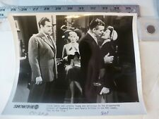 """Vintage Glossy Press Photo-Clark Gable Loretta Young """"Key To The City"""" 1950"""
