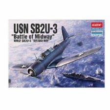 Academy 12324 1/48 USN Sb2u-3 Battle of Midway Military Aircraft Plastic Kits