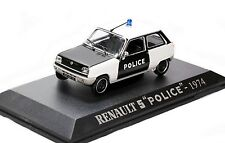 1/43 UH - NEUF EN BOITE VITRINE : RENAULT 5 .R5 POLICE PARISIENNE - 1974