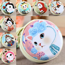 1Pc Cute Children's Cat Pattern Coin Bag Case Purse Clutch Wallet Lady Hangbag