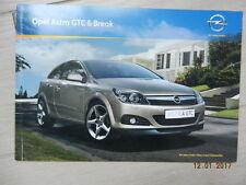Catalogue Opel Astra GTC  & break mars 2010