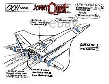 JONNY QUEST MODEL SHEET PRINT Hanna Barbera - QUESTOR II