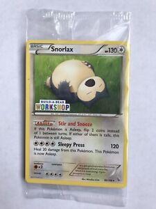 B-A-B Pokémon  Snorlax Promo Card  Brand New Sealed.