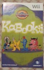 Nintendo Wii - Cranium Kabookii (Manual only)