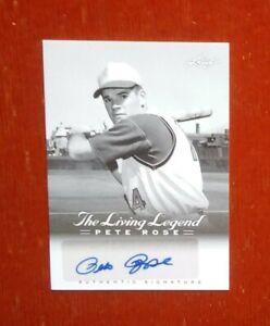 2012 Leaf The Living Legend Pete Rose # AU-2 Autograph Card (The Hits King)