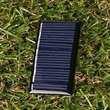 5V 2W 25MA 45x25mm Polycrystalline Silicon Solar Panels Power Epoxy DIY Portable