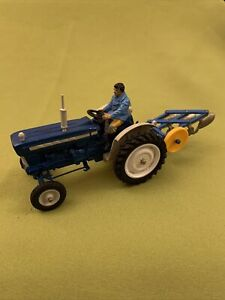 Britains Farm 1:32 Ford 5000 Super Major Tractor with Plough Vintage Rare