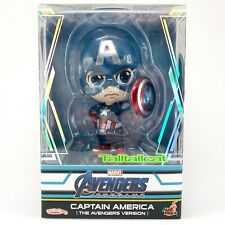 Marvel Hot Toys Avengers END GAME Captain America Shield Cosbaby