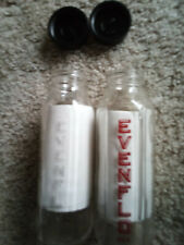 New listing Vintage Evenflo Clear Glass 8 oz Baby Milk Bottle Lot Of 2