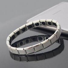 Couple Germanium Titanium Steel Elastic Bracelet Bracelet Bangle For Men A2V6