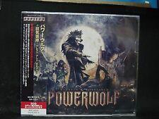 POWERWOLF Blessed & Possessed JAPAN CD + Bonus Disc Sun Caged Flowing Tears
